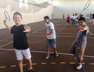Ludovic, Idriss et Gélaor en pleine démonstration