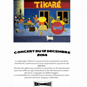 affiche concert coll